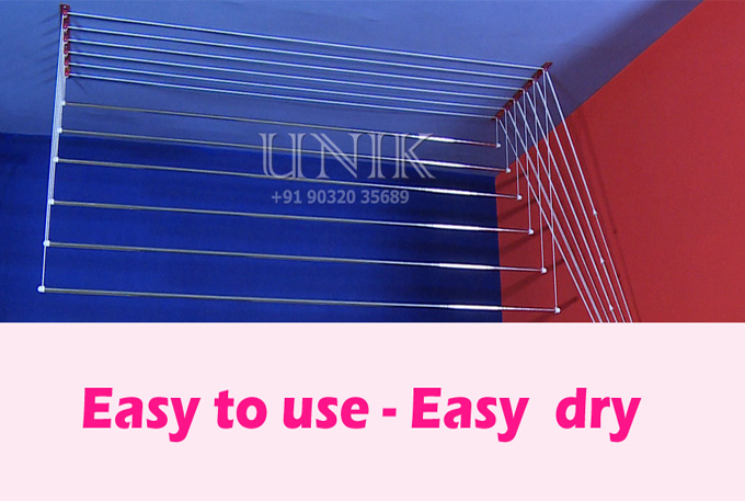 cloth drying roof hangers
