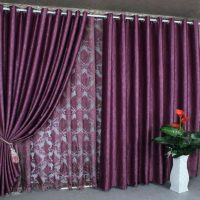 thick-purple-curtains-surprising-purple-color-curtains-designs-curtain-ideas-for-living-room-with-4-windows