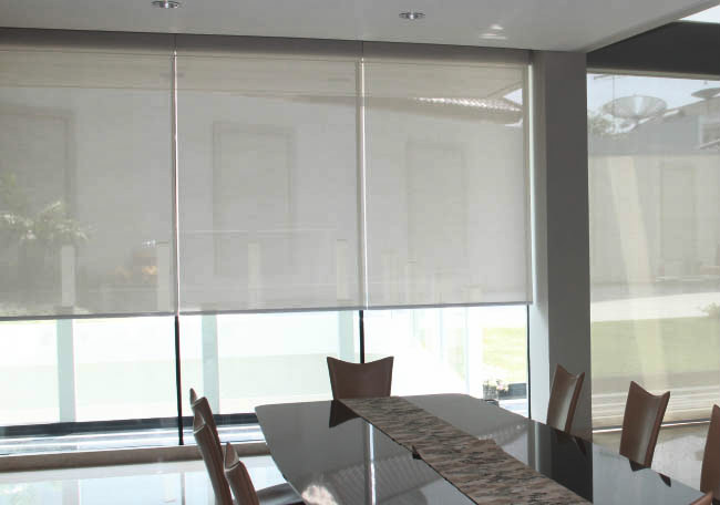 Roller blinds and curtains interior blinds vertical - Interior vs exterior solar screens ...