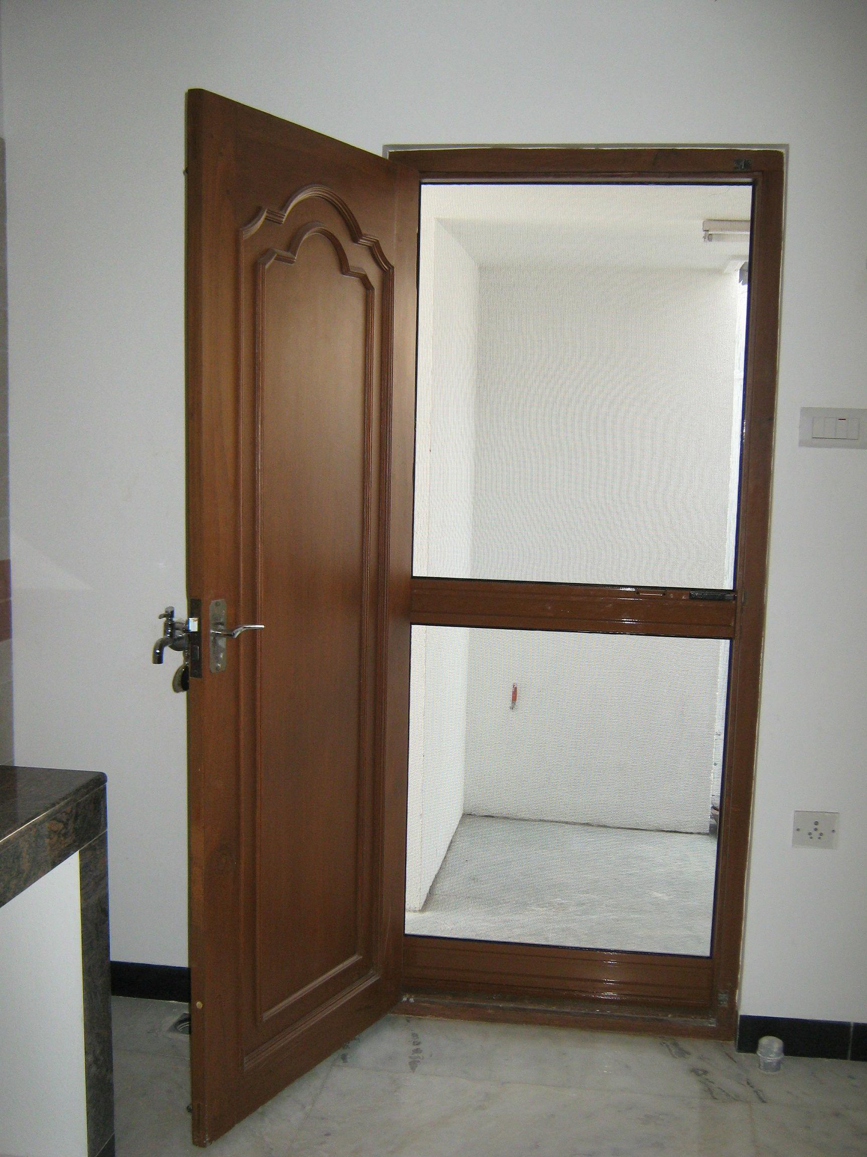 Single Door Screens Pull Push Model Single Door Screens