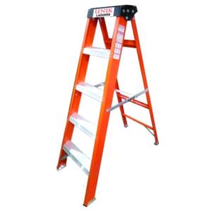 4 steps aluminium ladders