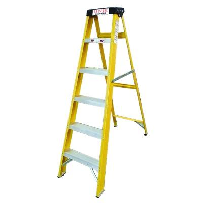 5 steps aluminium ladders